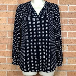 Ann Taylor long sleeve blouse XXS